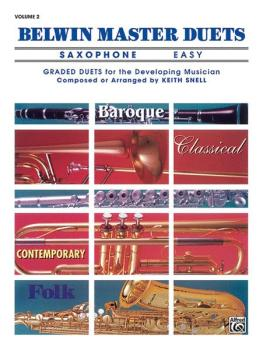 Belwin Master Duets (Saxophone), Easy Volume 2 (AL-00-EL03645)