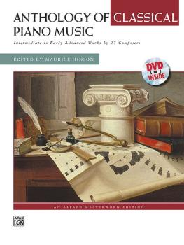 Anthology of Classical Piano Music with Performance Practices in Class (AL-00-21450)