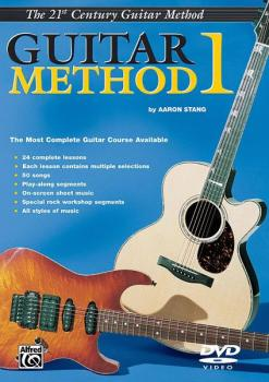 Belwin's 21st Century Guitar Method 1 DVD: The Most Complete Guitar Co (AL-00-EL03842DVD)