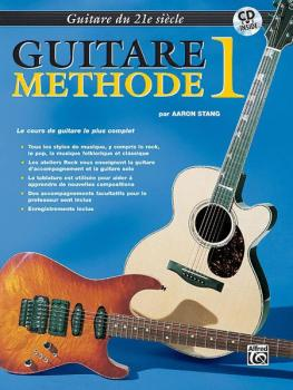 Belwin's 21st Century Guitar Method 1 (French Edition) (AL-00-EL03842FCD)