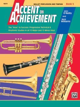 """Accent on Achievement, Book 3: The """"Keys"""" to Success - Progressive Tec (AL-00-18070)"""