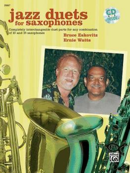 Jazz Duets for Saxophones (AL-00-20867)