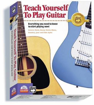 Alfred's Teach Yourself to Play Guitar: Everything You Need to Know to (AL-00-14999)
