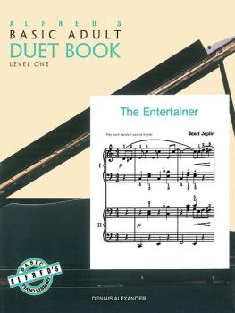 Alfred's Basic Adult Piano Course: Duet Book 1 (AL-00-2227)