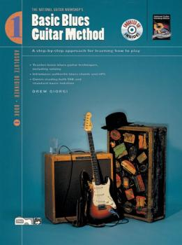 Basic Blues Guitar Method, Book 1: A Step-by-Step Approach for Learnin (AL-00-22903)