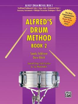 Alfred's Drum Method, Book 2 (AL-00-238)