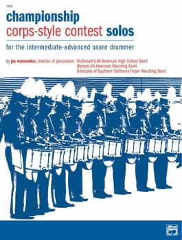 Championship Corps-Style Contest Solos (For the Intermediate-Advanced  (AL-00-2428)