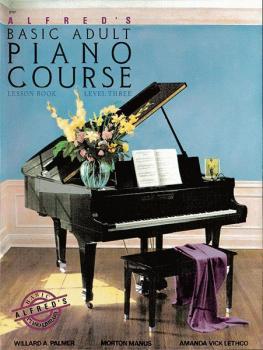 Alfred's Basic Adult Piano Course: Lesson Book 3 (AL-00-2263)