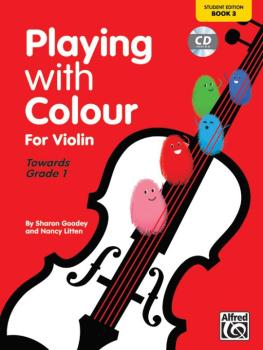 Playing with Colour for Violin, Book 3 (AL-00-20153UK)