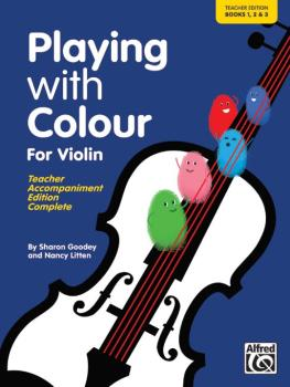 Playing with Colour for Violin, Teacher Book (AL-00-20154UK)