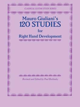 120 Studies for Right Hand Development (AL-00-F1887GCX)