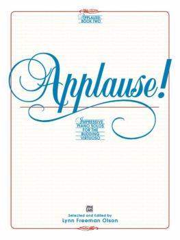 Applause!, Book 2: Impressive Piano Solos for the Budding Virtuoso (AL-00-2538)