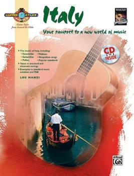 Guitar Atlas: Italy: Your passport to a new world of music (AL-00-26073)