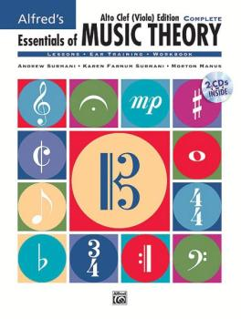 Alfred's Essentials of Music Theory: Complete Alto Clef (Viola) Editio (AL-00-27642)
