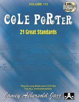 Jamey Aebersold Jazz, Volume 112: Cole Porter (21 Great Standards) (AL-24-V112DS)
