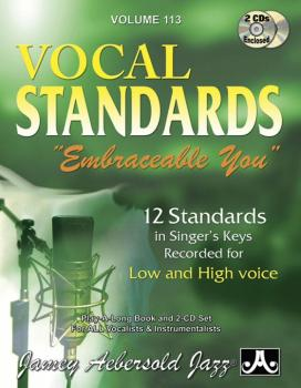"Jamey Aebersold Jazz, Volume 113: Vocal Standards ""Embraceable You"": 1 (AL-24-V113DS)"