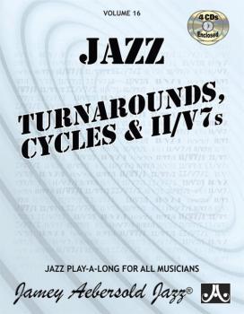 Jamey Aebersold Jazz, Volume 16: Jazz Turnarounds, Cycles, & ii/V7s (AL-24-V16DS)