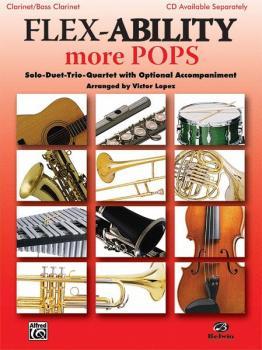 Flex-Ability: More Pops: Solo-Duet-Trio-Quartet with Optional Accompan (AL-00-30324)