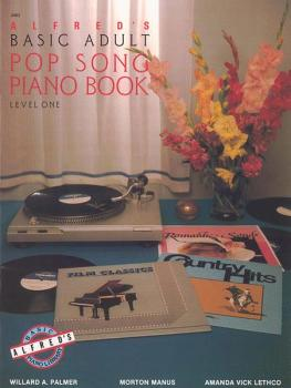 Alfred's Basic Adult Piano Course: Pop Song Book 1 (AL-00-2463)