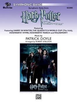 <I>Harry Potter and the Goblet of Fire</I>, Symphonic Suite from (Feat (AL-00-24789S)