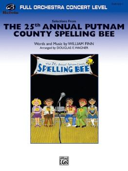 <I>The 25th Annual Putnam County Spelling Bee,</I>™ Selections from (AL-00-25059S)