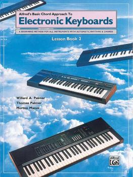 Alfred's Basic Chord Approach to Electronic Keyboards: Lesson Book 2:  (AL-00-3099)