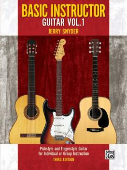 Basic Instructor Guitar 1 (3rd Edition): Pickstyle and Fingerstyle Gui (AL-00-32071)