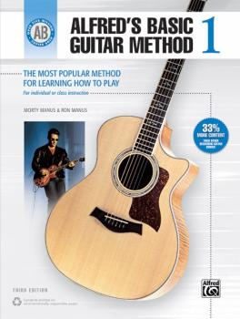 Alfred's Basic Guitar Method 1 (Third Edition): The Most Popular Metho (AL-00-33304)