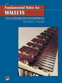 Fundamental Solos for Mallets: 11 Early- to Late-Intermediate Solos fo (AL-00-17321)