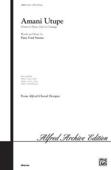 Amani Utupe: Swahili -- Grant Us Peace, Give Us Courage (AL-00-18694)