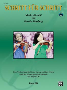 Step by Step 2B: An Introduction to Successful Practice for Violin (AL-00-25876GER)