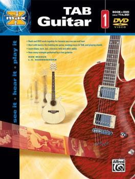 Alfred's MAX™ TAB Guitar 1: See It * Hear It * Play It (AL-00-25299)
