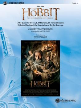 <i>The Hobbit: The Desolation of Smaug,</i> Suite from: I. The Quest f (AL-00-42209S)