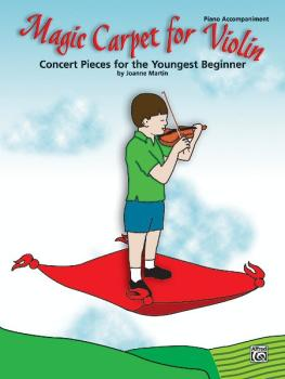 Magic Carpet for Violin: Concert Pieces for the Youngest Beginners (AL-00-27012)