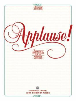 Applause!, Book 1: Impressive Piano Solos for the Budding Virtuoso (AL-00-2537)