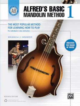 Alfred's Basic Mandolin Method 1 (Revised): The Most Popular Method fo (AL-00-44100)