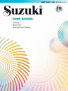Suzuki Harp School Harp Part & CD, Volume 5: International Edition (AL-00-44771)