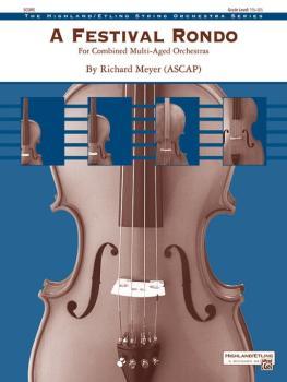 A Festival Rondo (For Combined Multi-Aged Orchestras) (AL-00-44848S)