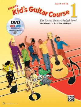 Alfred's Kid's Guitar Course 1: The Easiest Guitar Method Ever! (AL-00-45241)