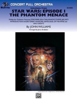 <I>Star Wars®:</I> Episode I <I>The Phantom Menace,</I> Selections fro (AL-00-FO9912C)
