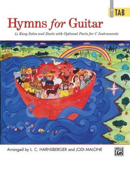 Hymns for Guitar: 14 Easy Solos and Duets with Optional Parts for C In (AL-00-23216)