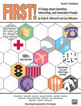 First!: 14 Songs About Inventive, Interesting, and Innovative People (AL-00-24014)