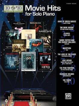 10 for 10 Sheet Music: Movie Hits for Solo Piano (AL-00-37267)