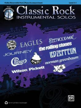 Classic Rock Instrumental Solos for Strings (AL-00-37406)