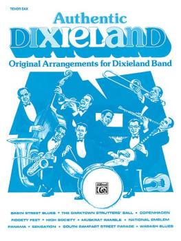 Authentic Dixieland: Original Arrangements for Dixieland Band (AL-00-TBB0038)