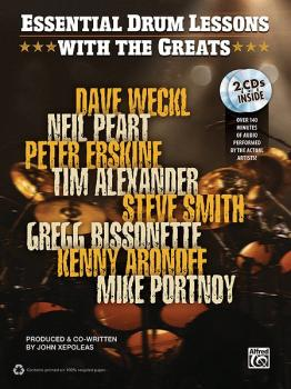 Essential Drum Lessons with the Greats (AL-00-35141)