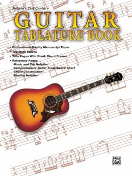 Belwin's 21st Century Guitar Tablature Book (AL-00-EL9928)