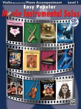 Easy Popular Movie Instrumental Solos for Strings (AL-00-28165)