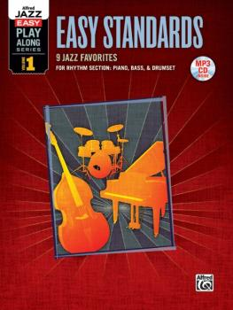 Alfred Jazz Easy Play-Along Series, Vol. 1: Easy Standards (9 Jazz Fav (AL-00-36084)