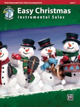 Easy Christmas Instrumental Solos, Level 1 for Strings (AL-00-33295)